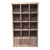 Meuble Madera étagères 12 cases + 3 portes