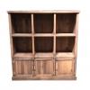Meuble Madera étagères 6 cases + 3 portes