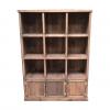 Meuble Madera étagères 9 cases + 3 portes