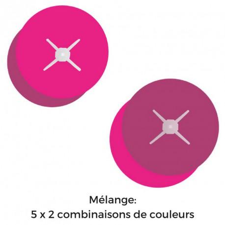 Bulles rondes - Polypro - Double feuilles - Ø 88 cm