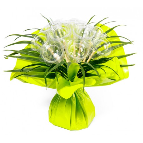 Bouquet bulle 9 tiges - collection uni