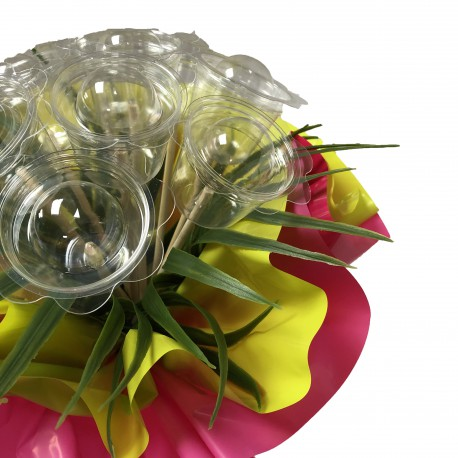 Bouquet bulle 9 tiges - Collection 2 feuilles