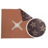 Bulles carrées - Métalisée / étoilée