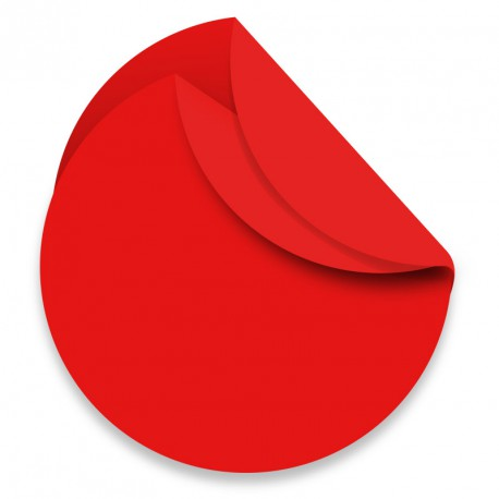Rame Polypro Ronde unie 88 Rouge
