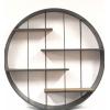Meuble rond à accrocher - 4 étagères