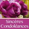 Étiquette - Sincères condoléances